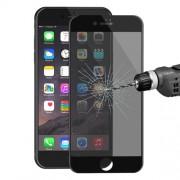 HAT PRINCE Anti-spy Σκληρυμένο Γυαλί (Tempered Glass) Προστασίας Οθόνης Πλήρης Κάλυψης για iPhone 7 - Μαύρο