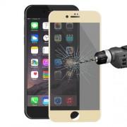 HAT PRINCE Anti-spy Σκληρυμένο Γυαλί (Tempered Glass) Προστασίας Οθόνης Πλήρης Κάλυψης για iPhone 7 - Χρυσαφί
