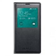 Δερμάτινη Θήκη Βιβλίο Smart Cover με Ενσωματωμένο Καπάκι Μπαταρίας για Samsung Galaxy S5 G900 - Μαύρο