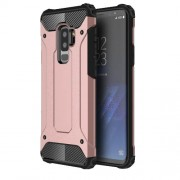 Armor Guard Plastic + TPU Combo Case for Samsung Galaxy S9+ G965 - Rose Gold