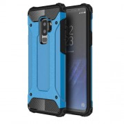 Armor Guard Plastic + TPU Hybrid Protection Case for Samsung Galaxy S9+ G965 - Baby Blue