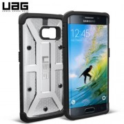 UAG PLASMA Hard Case for Samsung Galaxy S6 Edge - Ice/Black