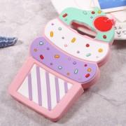 Θήκη Σιλικόνης 3D Σχέδιο Παγωγό για Samsung Galaxy J5 (2016) SM-J510 - Ροζ