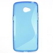 Θήκη Σιλικόνης TPU Σχέδιο S για LG K5 - Μπλε