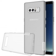 NILLKIN 0.6mm Nature Soft TPU Cover Case for Samsung Galaxy Note 8 - White