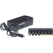 Manhattan Universal Notebook Power Adapter, Automatic Adjustable Voltage, 7 Output Levels, 70 W
