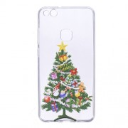 Christmas Pattern Printing TPU Protective Cover for Huawei P10 Lite - Exquisite Christmas Tree
