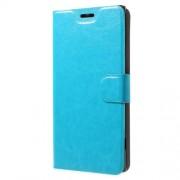 Δερμάτινη Θήκη Πορτοφόλι με Βάση Στήριξης για Sony Xperia XA1 Plus - Μπλε