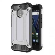 Tough Armor Υβριδική Θήκη Σιλικόνης TPU σε Συνδυαμό με Πλαστικό για Motorola Moto G5S - Γκρι