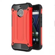 Tough Armor Υβριδική Θήκη Σιλικόνης TPU σε Συνδυαμό με Πλαστικό για Motorola Moto G5S - Κόκκινο