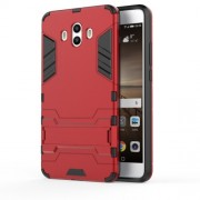 Cool Guard Plastic TPU Combo Phone Case for Huawei Mate 10 - Red