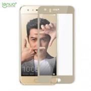 LENUO CF Σκληρυμένο Γυαλί (Tempered Glass) Προστασίας Οθόνης Πλήρης Κάλυψης για Huawei Honor 9 (Arc Edge) - Χρυσαφί