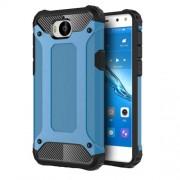 Tough Armor Υβριδική Θήκη Σιλικόνης TPU σε Συνδυαμό με Πλαστικό για Huawei Y5 (2017) / Y6 (2017) - Μπλε