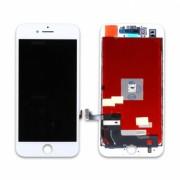Οθόνη LCD και Οθόνη Μηχανισμού Αφής για iPhone 8 - Λευκό