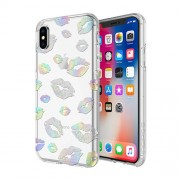 IINCIPIO Design Series Classic for iPhone X - Holographic Kisses (IPH-1651-KISS)