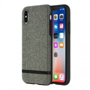 INCIPIO Esquire Series Carnaby Case for iPhone X - Forest Gray