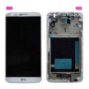Original LG LCD Screen and Digitizer for LG G2 D802 - White  (ACQ87040902)