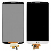 LCD Screen and Digitizer Assembly for LG G3 D855 Grade A - White