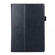 Δερμάτινη Θήκη Βιβλίο με Βάση Στήριξης για Lenovo Tab 2 A10-70 - Μαύρο