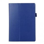 Δερμάτινη Θήκη Βιβλίο με Βάση Στήριξης για Lenovo Tab 2 A10-70 - Σκούρο Μπλε