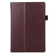 Δερμάτινη Θήκη Βιβλίο με Βάση Στήριξης για Lenovo Tab 2 A10-70 - Καφέ