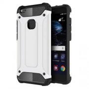 Armor Guard Plastic + TPU Hybrid Phone Case for Huawei P10 Lite - White