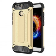 Armor Guard PC + TPU Hybrid Shell Cover Case for Huawei Honor 8 Pro / Honor V9 - Gold