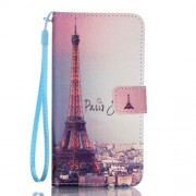 Wallet Leather Stand Cover for Samsung Galaxy A3 SM-A310F (2016) - Paris Eiffel Tower