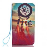 Wallet Leather Phone Case for Samsung Galaxy A3 SM-A310F (2016) - Sunset Dream Catcher