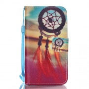 Wallet Leather Phone Case for Samsung Galaxy A5 SM-A510F (2016) - Sunset Dream Catcher