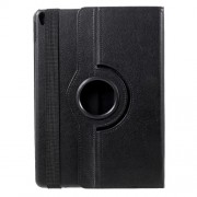 For iPad Pro 10.5-inch (2017) 360-Rotary Stand Leather Tablet Case Litchi Grain - Black