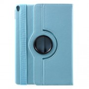 Litchi Grain 360 Rotary Stand Leather Case Accessory for iPad Pro 10.5-inch (2017) - Baby Blue