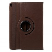 Litchi Grain 360 Rotary Stand Leather Shell Case for iPad Pro 10.5-inch (2017) - Brown