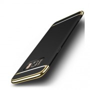 3-in-1 Electroplating PC Hard Case for Samsung Galaxy Note 8 - Black