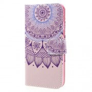Wallet Leather Patterned Case Cover for Samsung Galaxy A3 2017 - Mandala Pattern