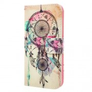 Printing Pattern Leather Card Slots Case for Samsung Galaxy A3 2017 - Dream Catcher