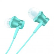 XIAOMI Piston Headphone 3.5mm Wired In-ear Earphone with Mic and Line-in Control Basic Edition - Blue