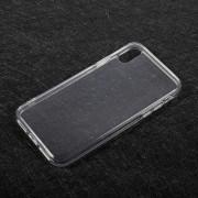 Θήκη Σιλικόνης TPU Ημιδιάφανη για iPhone X - Διάφανο