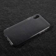 Θήκη Σιλικόνης TPU Ημιδιάφανη για iPhone X - Γκρι