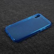 Θήκη Σιλικόνης TPU Ημιδιάφανη για iPhone X - Μπλε