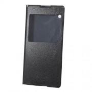 Δερμάτινη Θήκη Βιβλίο Smart Cover για Sony Xperia XA1 Ultra - Μαύρο