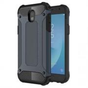 Armor Guard Plastic + TPU Combo Back Casing for Samsung Galaxy J5 (2017) EU Version - Dark Blue