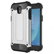 Armor Guard Plastic + TPU Hybrid Cover for Samsung Galaxy J5 (2017) EU Version - Silver