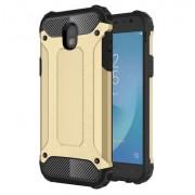 Armor Guard Plastic + TPU Hybrid Cell Phone Shell for Samsung Galaxy J5 (2017) EU Version - Gold