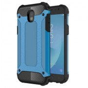 Armor Guard Plastic + TPU Hybrid Phone Cover for Samsung Galaxy J5 (2017) EU Version - Baby Blue