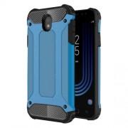 Armor Guard Plastic + TPU Hybrid Mobile Phone Cover for Samsung Galaxy J7 (2017) EU Version - Baby Blue
