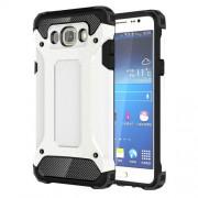 Armor Guard Plastic + TPU Back Case for Samsung Galaxy J7 (2016) - White