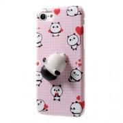 Θήκη Σιλικόνης TPU Σχέδιο 3D για iPhone 7 - Μοτίβο Panda
