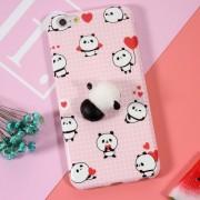Θήκη Σιλικόνης TPU Σχέδιο 3D για iPhone 6s Plus / 6 Plus - Μοτίβο Panda