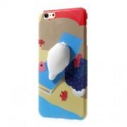 Θήκη Σιλικόνης TPU Σχέδιο 3D για iPhone 6s Plus / 6 Plus - Μοτίβο Παραλίας